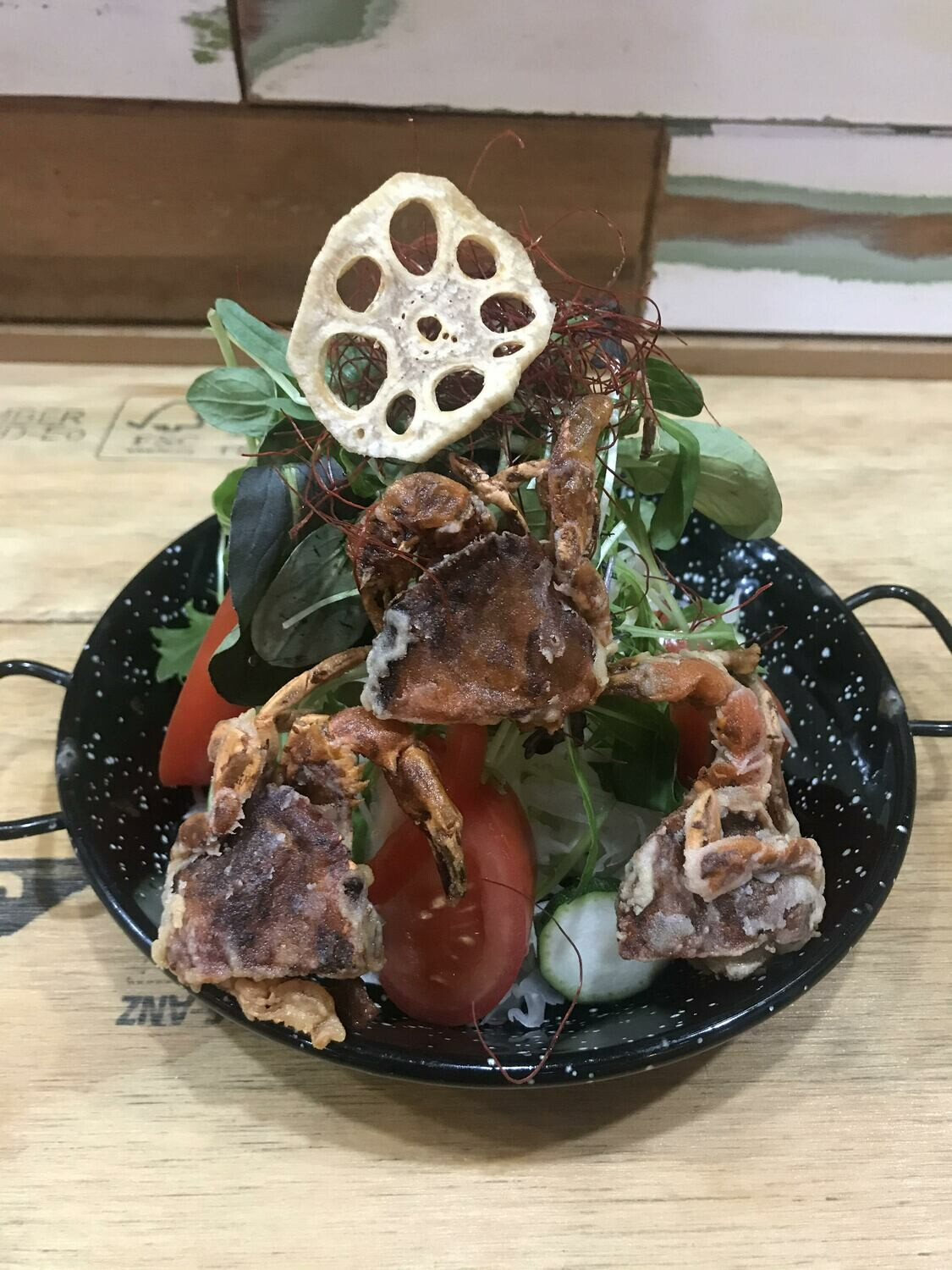 Spicy Soft Shell Crab