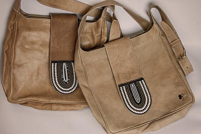 LEATHER STRAP BAG