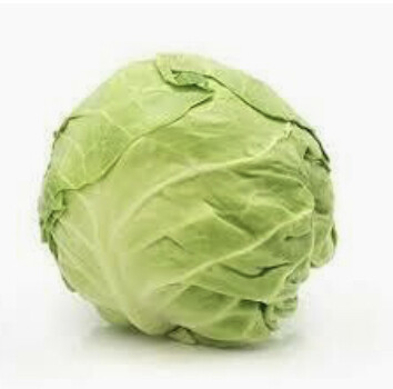 CABBAGE, GREEN (~3 LBS.)