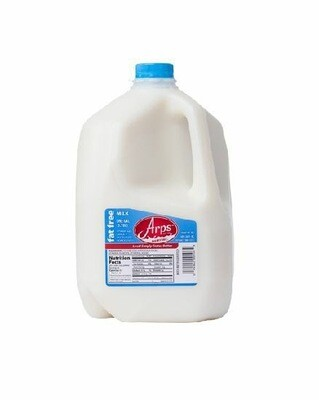 *SKIM MILK, ARPS DAIRY- DEFIANCE, OHIO . (1 EACH GALLON)