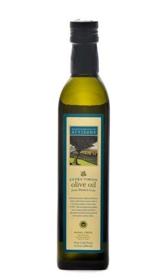 IMPORTED, EXTRA VIRGIN OLIVE OIL, CRETE- (17 oz.)