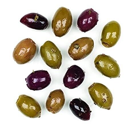 IMPORTED, MIXED OLIVES, GREECE (12.3 oz. jar)