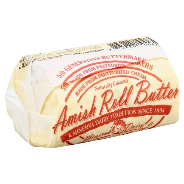 *Ohio* Amish Roll Butter 🧈-Minerva-2 Lbs