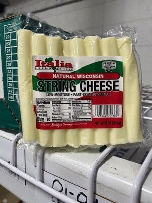 STRING CHEESE, 8oz. pack
