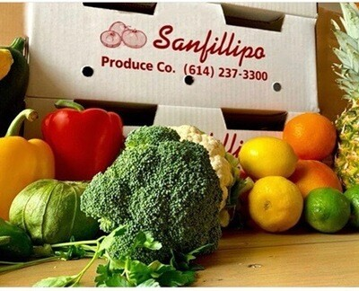 MIXED FRUIT AND VEGETABLE BOX  (Contains Over 30 Different fruits/vegetables)
