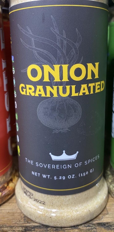SPICE-GRANULATED ONION- 5.29oz.