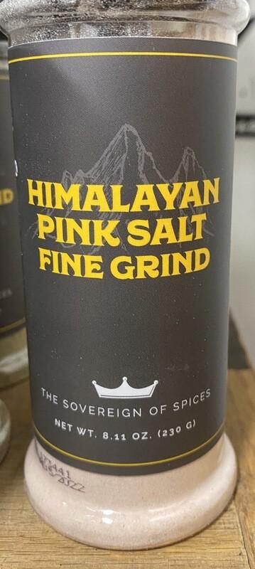 HIMALAYAN PINK SALT 8.11 Oz.