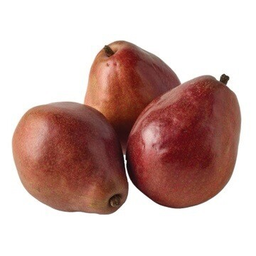 PEARS, RED ANJOU (5 EACH)