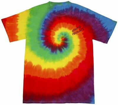 Cootie Brown's Tie-Dye ADULT Short Sleeve