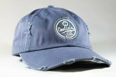 Cootie Brown's Distressed Cap Blue