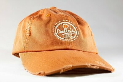 Cootie Brown's Distressed Cap Orange
