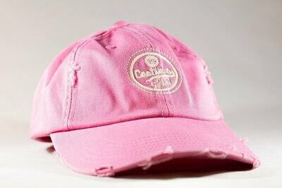 Cootie Brown's Distressed Cap Pink