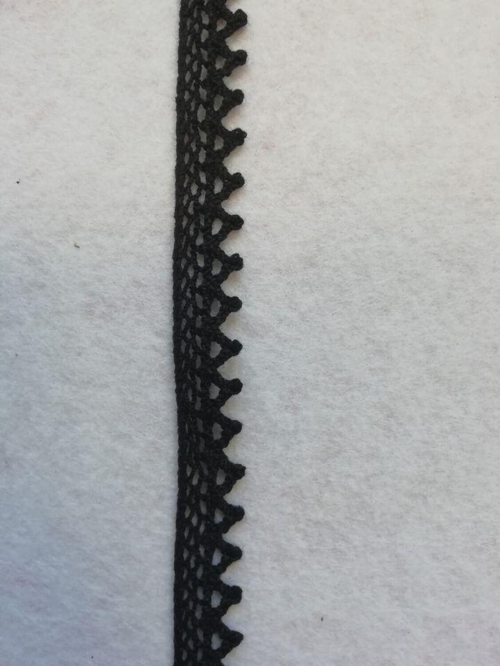 Тесьма вязаная (кружево) 10мм