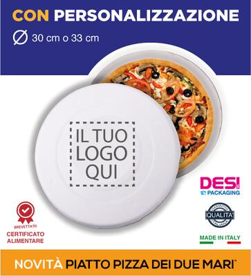 CARTONI TONDI PER PIZZA - Generici o Personalizzati - 1000 PZ