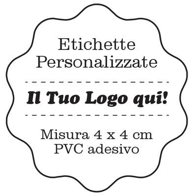 Etichette personalizzate adesive in PVC- Stampa in HD