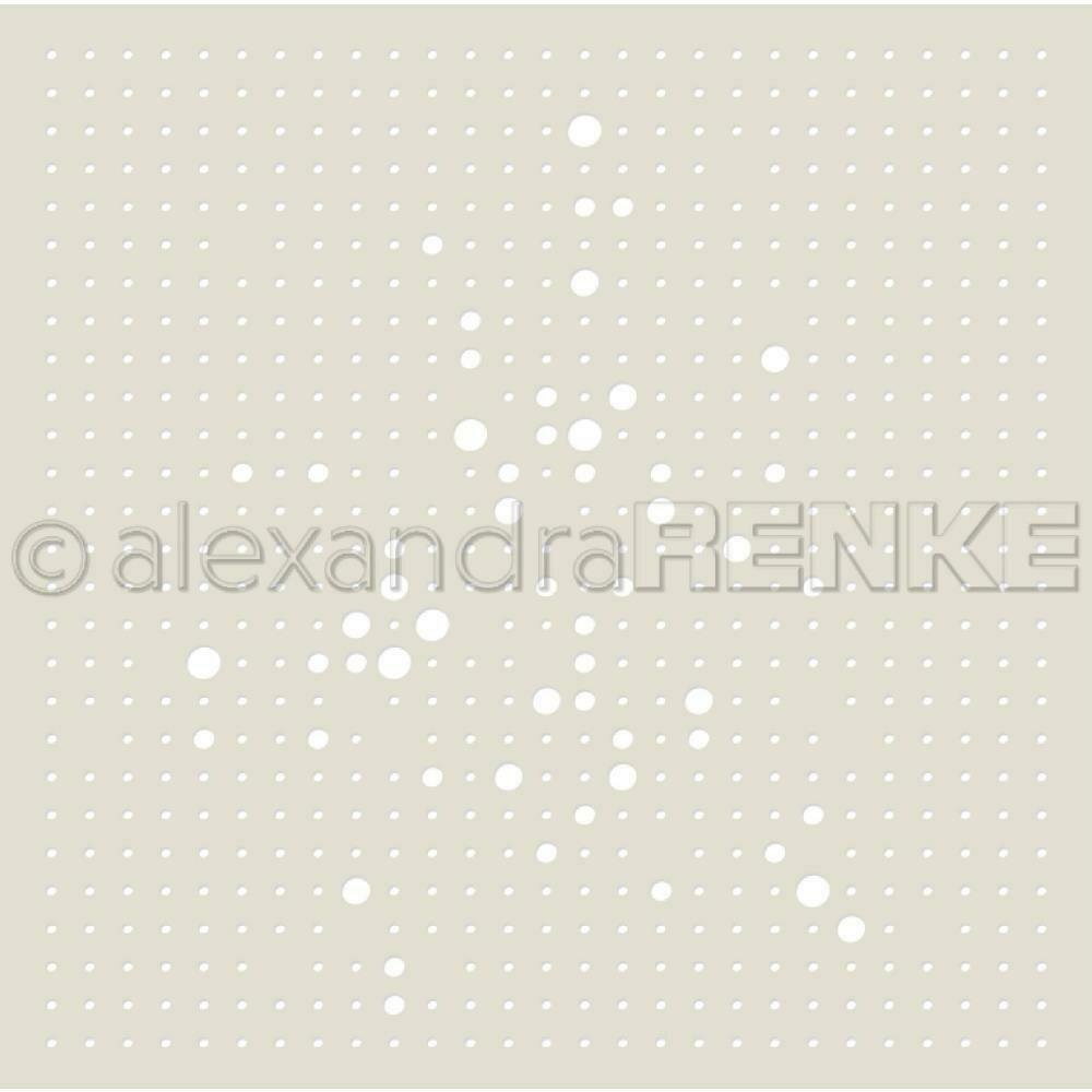 Alexandra Renke - Grid of Dots Stencil
