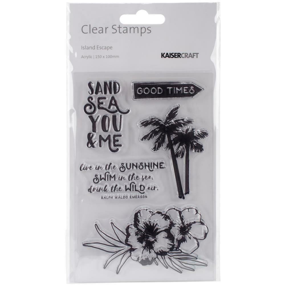 Kaisercraft - Island Escape Clear Stamp