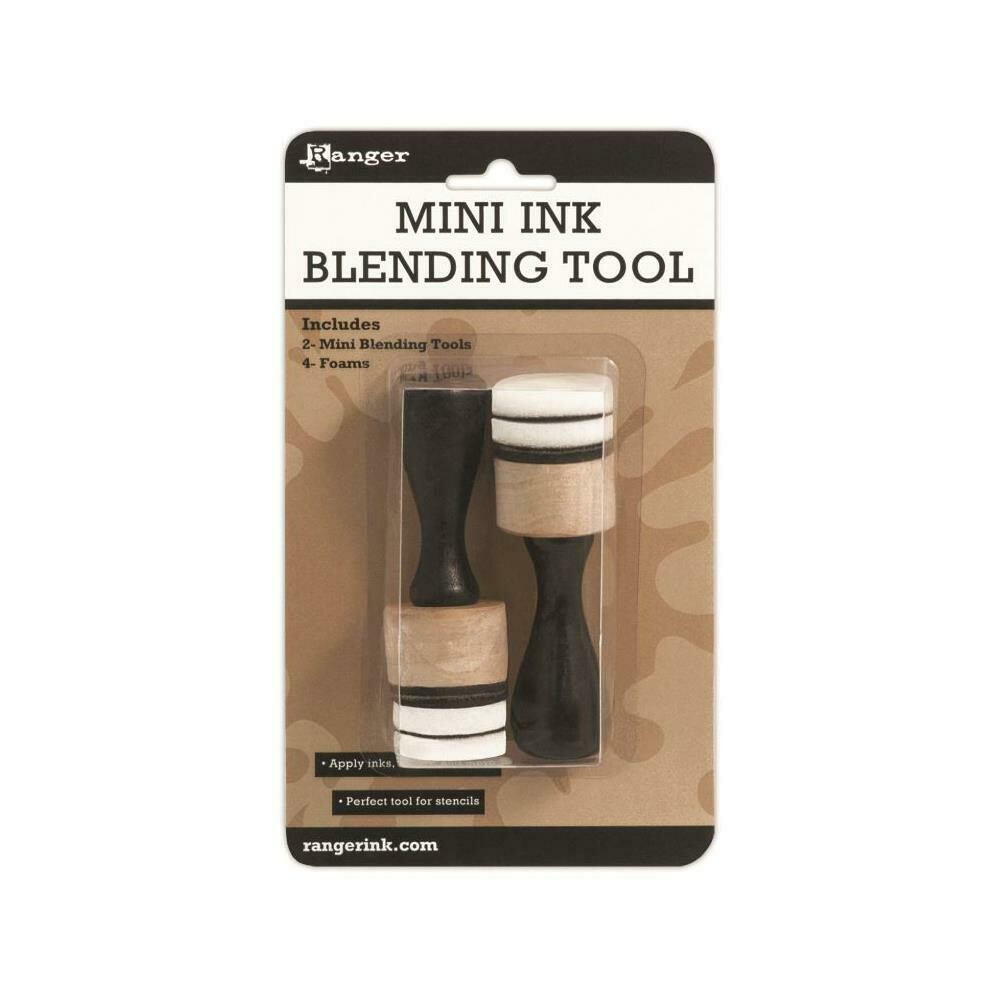 "Ranger - Tim Holtz - Mini Ink Blending Tools - 2 pack 1"" - IBT40965"