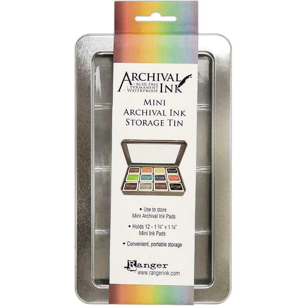 Ranger - Mini Archival Ink - Storage Tins