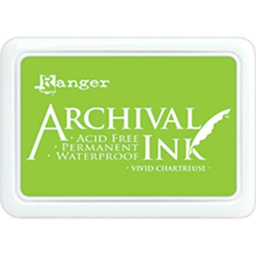 Ranger Archival Ink - Vivid Chartreuse Size O
