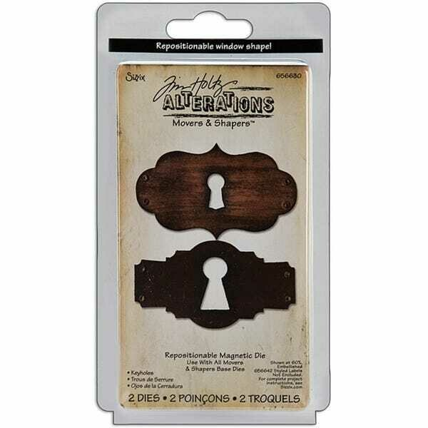 Tim Holtz  - Movers & Shapers - Key Holes
