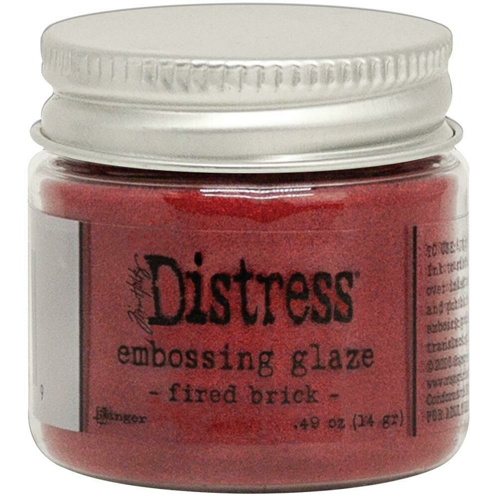 Distress - Embossing Glaze - Fired Brick