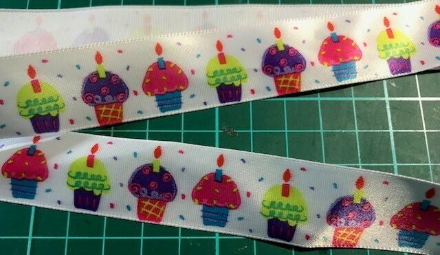 Nylon Ribbon- Cup Cakes
