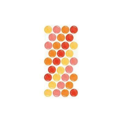 We R Memory Keepers - Self Adhesive Dots Warm