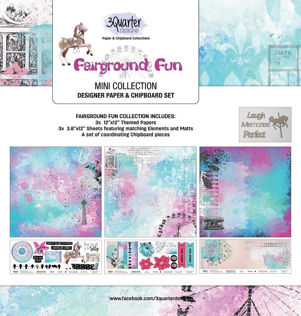 3 Quarter Designs Mini Collections - Fairground Fun