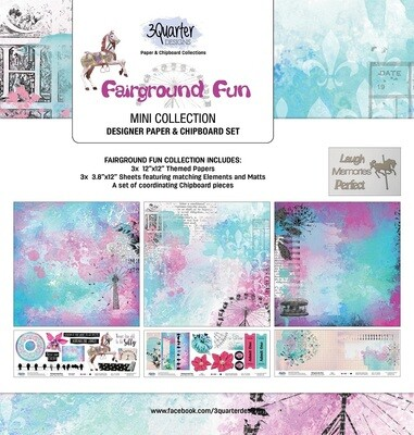 3 Quarter Designs Mini Collections - Fairground Fun