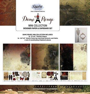 3 Quarter Designs Mini Collections - Dame Rouge