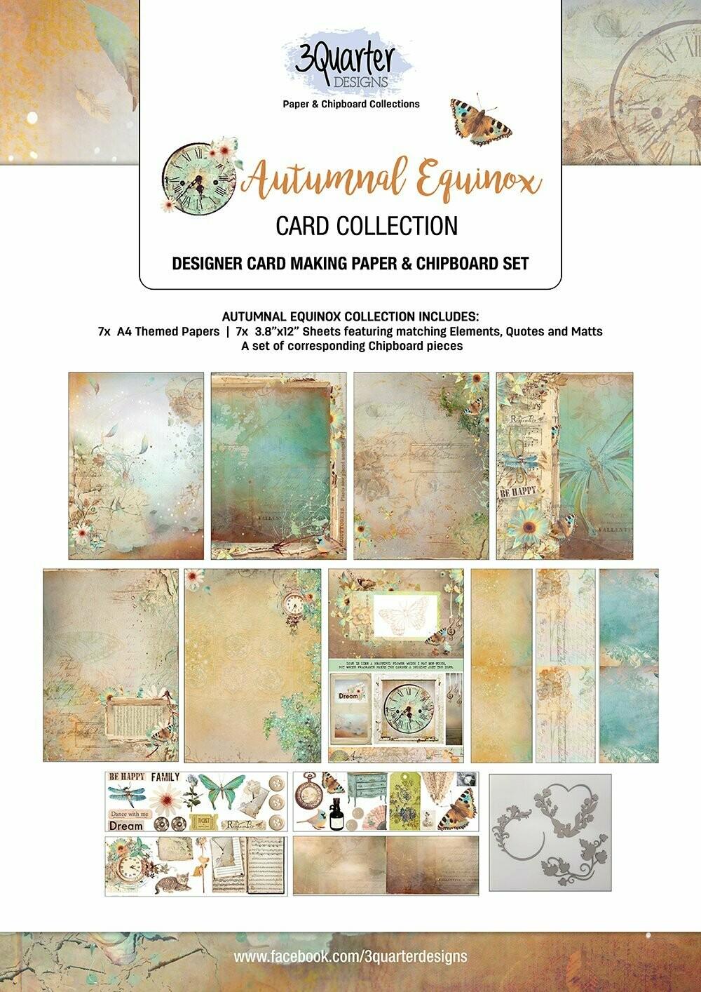 3 Quarter Designs - Card Making Kit - Autumnal Equinox