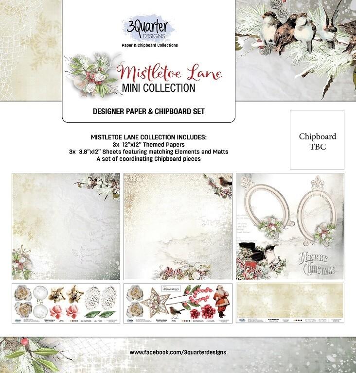 3 Quarter Designs Mini Collections - Mistletoe Lane