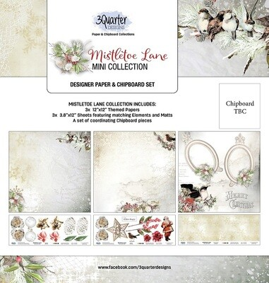 3 Quarter Designs Mini Collections - Mistletoe Lane