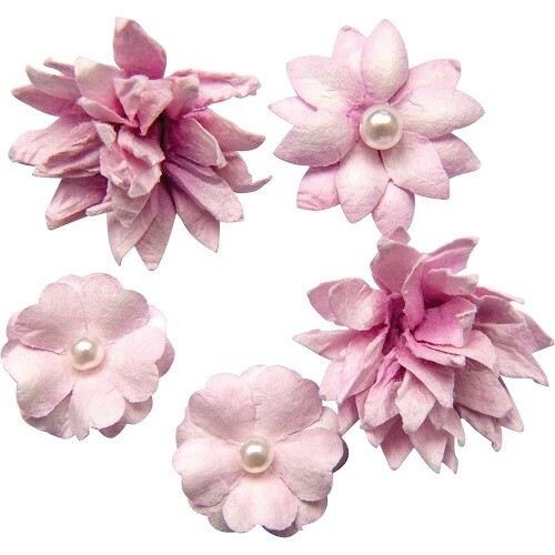 49 and Market - Mini Flower Packs (5 pieces) Punch