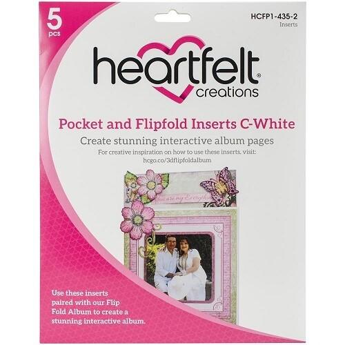 Pocket & Flipfold Inserts C-White (HCFP1-435-2)