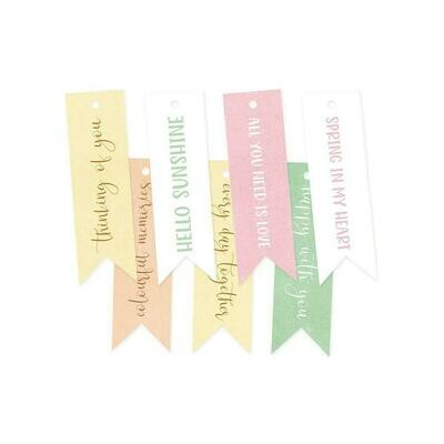 P13 - The Four Seasons Spring Decorative Tags