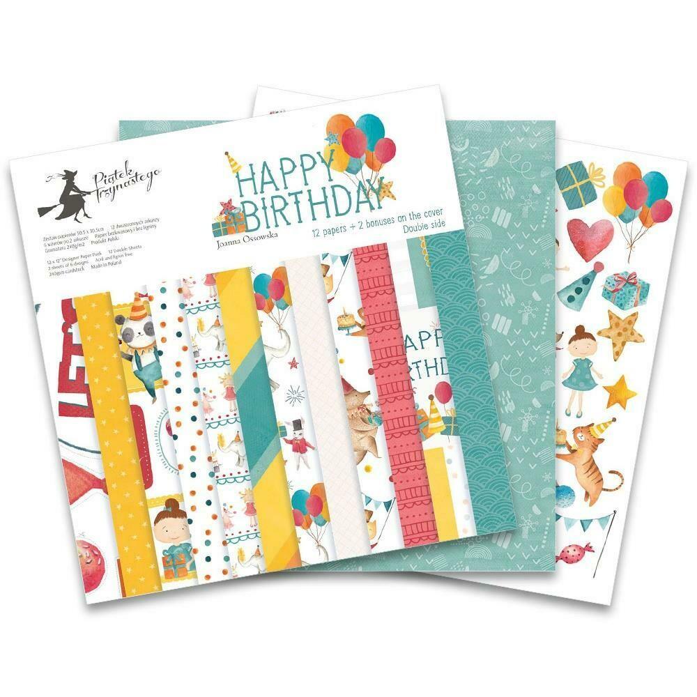 P13 - Happy Birthday  12 x 12 Collection