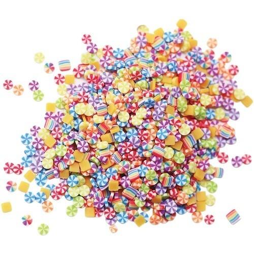 Dress My Craft - Shaker Mix Rainbow Candies - 5grms