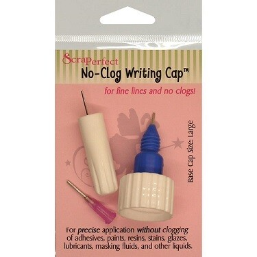 ScraPerfect - No Clog Writing Cap Set -Large Bottles