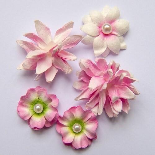 49 & Market - Blush - Mini Flower Packs (5 pieces)