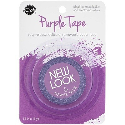 iCraft Purple Masking Tape  - 1.5 x 15yds