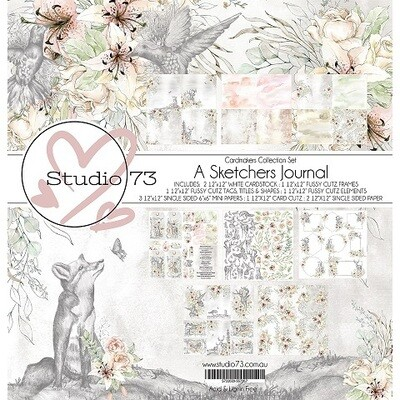Studio 73 - A Sketchers Journal - Card Collection