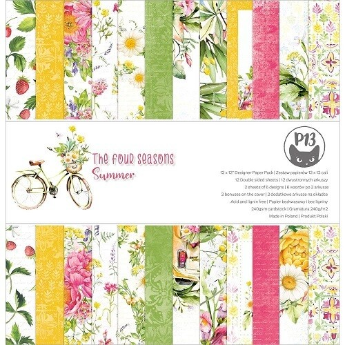 P13 - The Four Seasons Summer 12 x 12 Collection