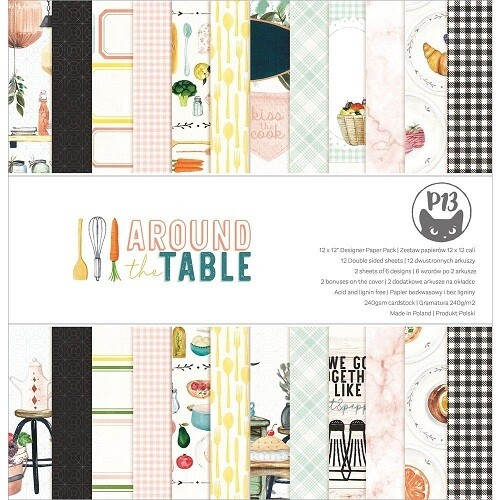 P13 - Around The Table 12 x 12 Collection