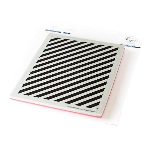 PinkFresh Studios Stamp - POP out - Diagonal Stripes - PFCR1520