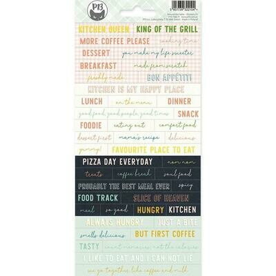 P13 - Around The Table Word - Stickers
