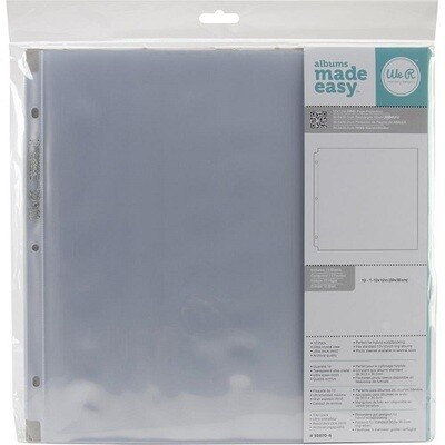 We R Memory Keepers - 12 x 12 Page Protectors 10 Pack