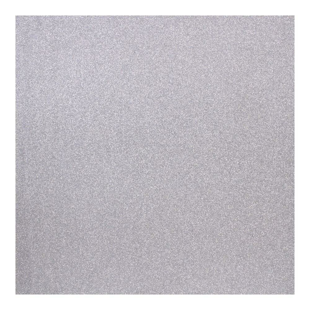 American Crafts - Glitter paper - Ultra Thin - Silver