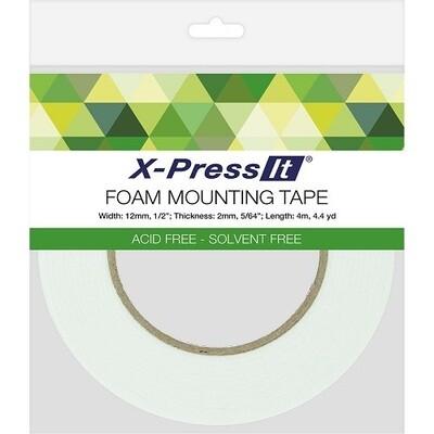 X -Press It - Double Sided Foam Tape - 12mm